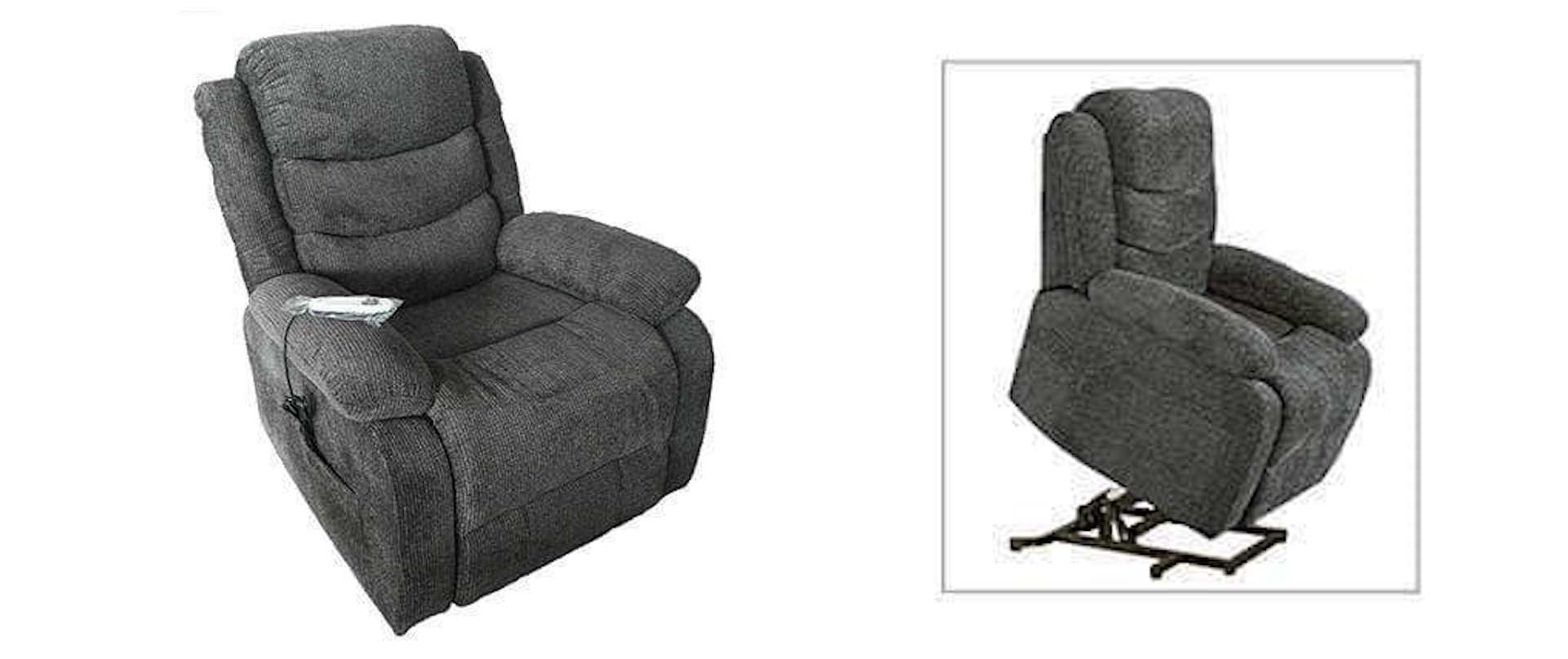 Dark grey Primo international single lift chair in Canada