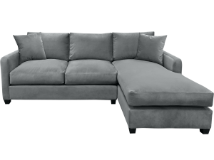 Grey sectional elite sofa.