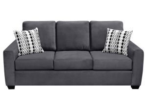 Dark grey Elita sofa.