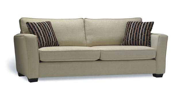 A Two sites Cosmic Latte stylish sofa made in BC
