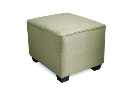 rectangle beige with four wood legs