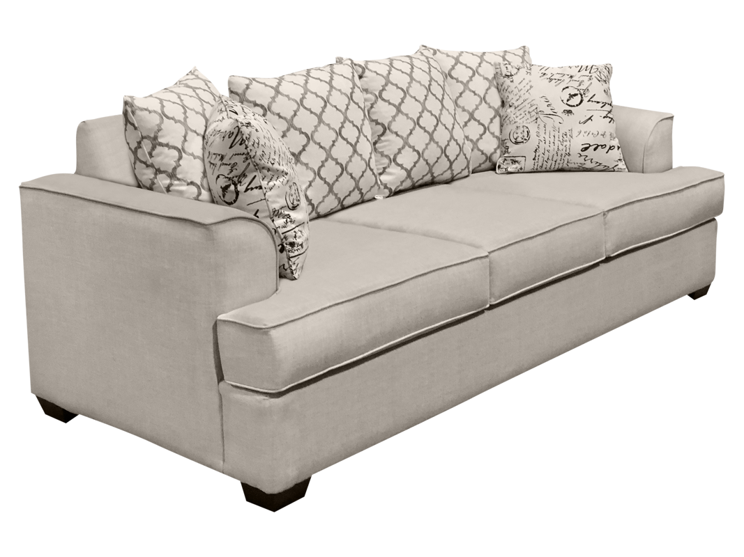 Mario elite sofa in beige color.