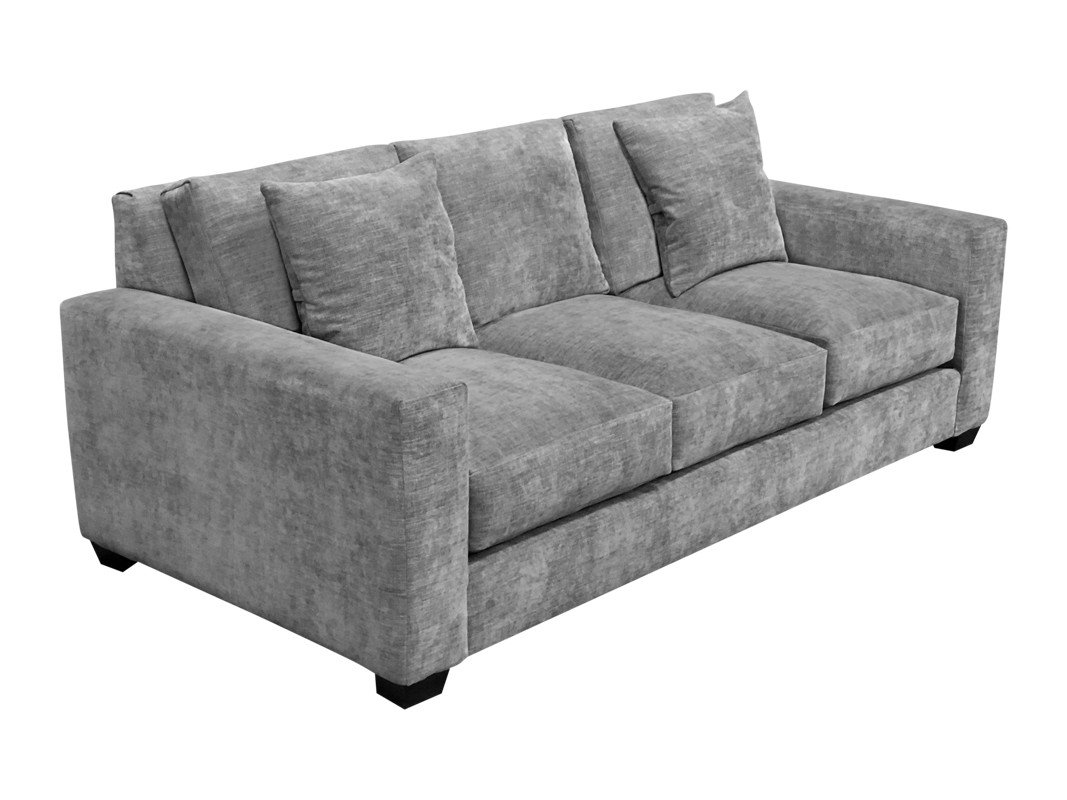 Memories elite sofa in grey color.