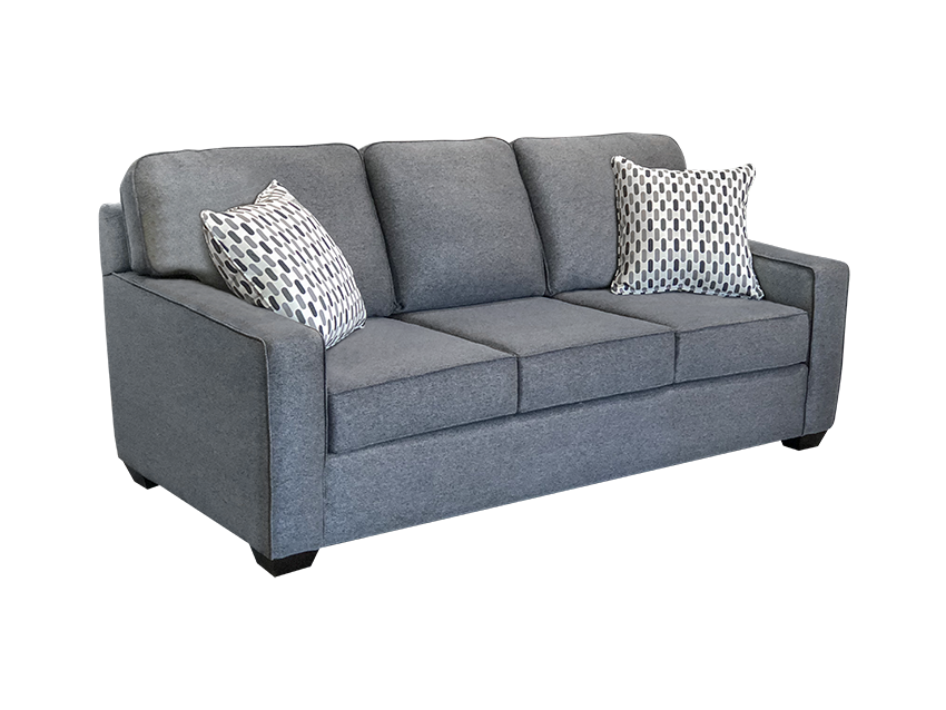 Mission elite sofa in grey color.