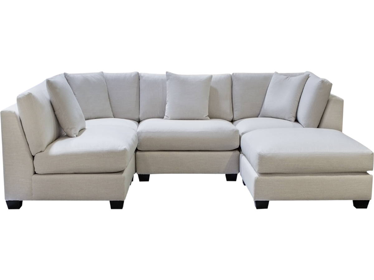square modular sectional sofa