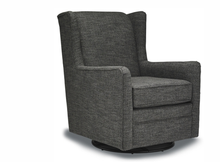 fabric dark grey fashion sofa with round stand