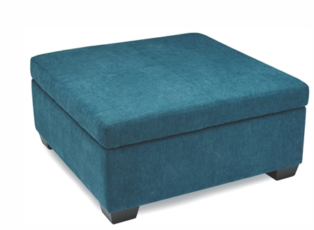 fashion blue sofa with big storage space