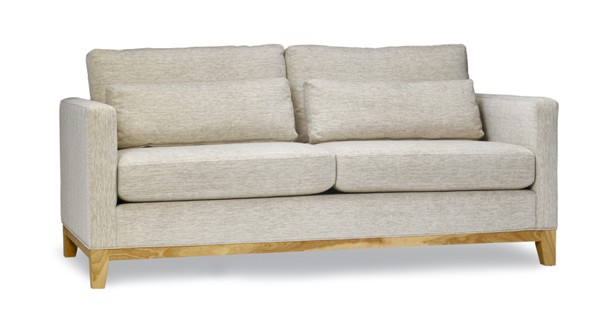 Fashion Banyan two seats sofa with long sofa pillows