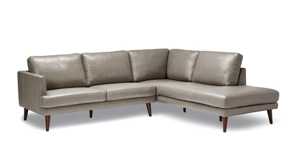 Canada Boca bright brown sofa section