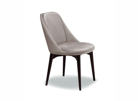 Canadian Booke light grey chair with arm
