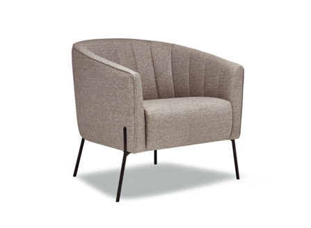 Canadian Fashion Kelby round armchair