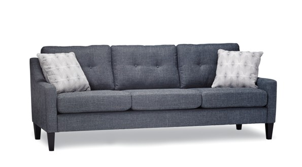 Canada three seats dark grey willow sofa
