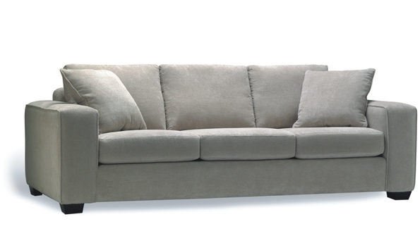 BC Sophia sofa with hanging on both sides