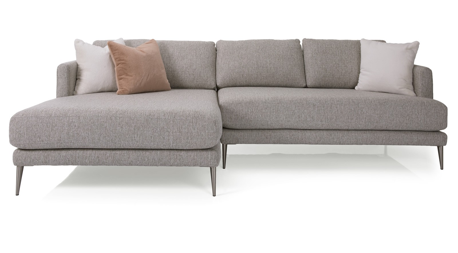 a perfect modern beige sofa for you living room